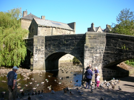 Hebden Bridge (well, don't know if it's THAT bridge)