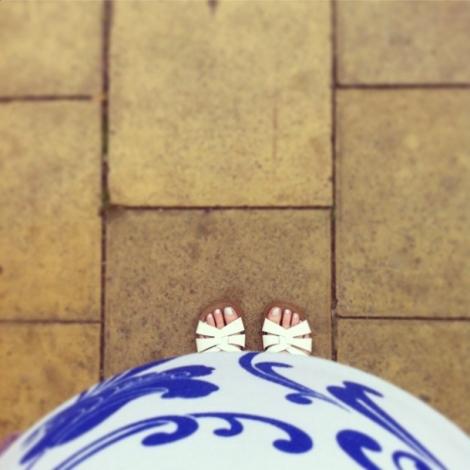 Happy bump, happy toes